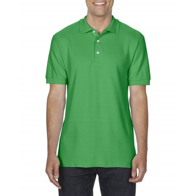 Gi75800 Dryblend Double Piqu Polo Irish Green Gildan