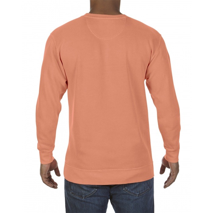 Cc1566 Comfort Colors Adult Crewneck Sweatshirt Melon