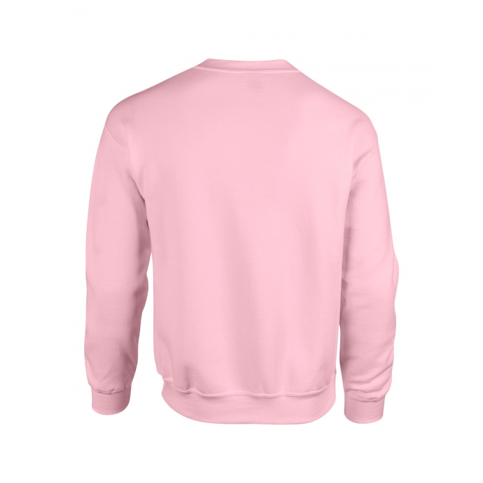 GI18000, Heavy Blend Adult Crewneck Sweatshirt (Light Pink) ○ Gildan