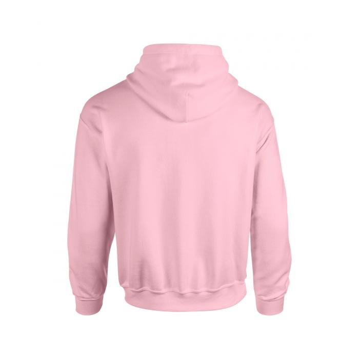 GI18500, Heavy Blend Adult Hooded Sweatshirt (Light Pink) ○ Gildan