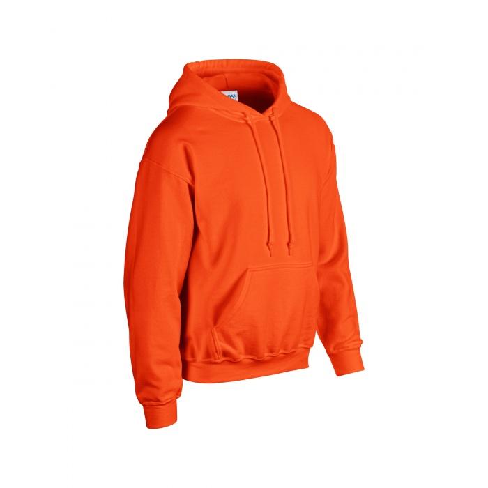 Gildan G18500 Heavy Blend Adult Unisex Hooded Sweatshirt 2XL 1 Black 1 Red