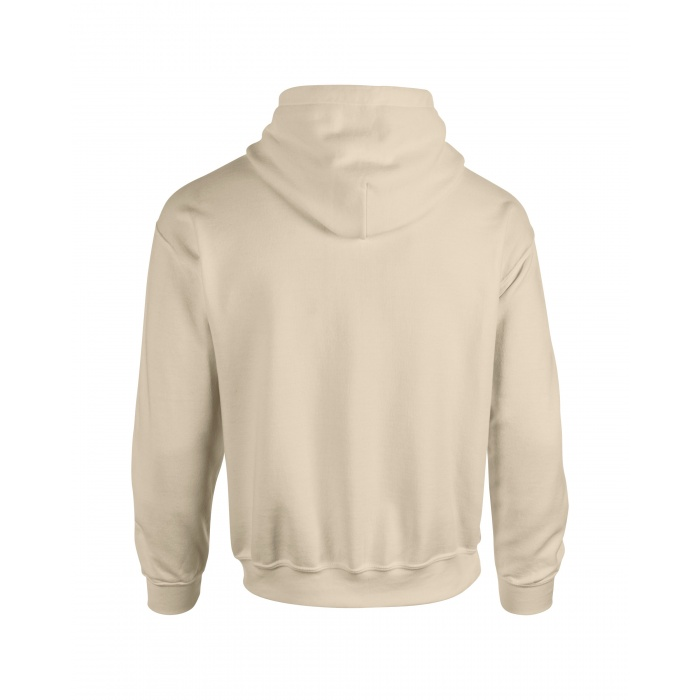 Gi18500 Heavy Blend Adult Hooded Sweatshirt Sand Gildan