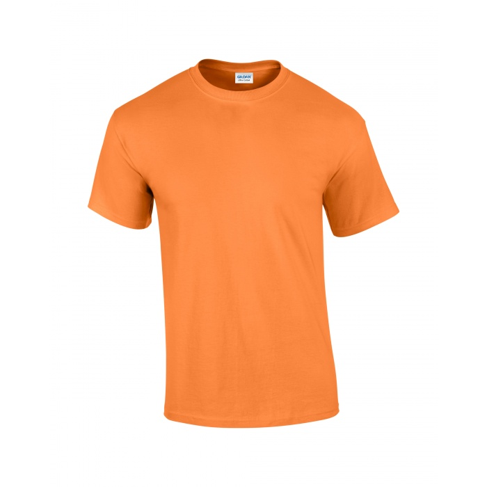 Gi2000 Ultra Cotton Adult T Shirt Tangerine Gildan