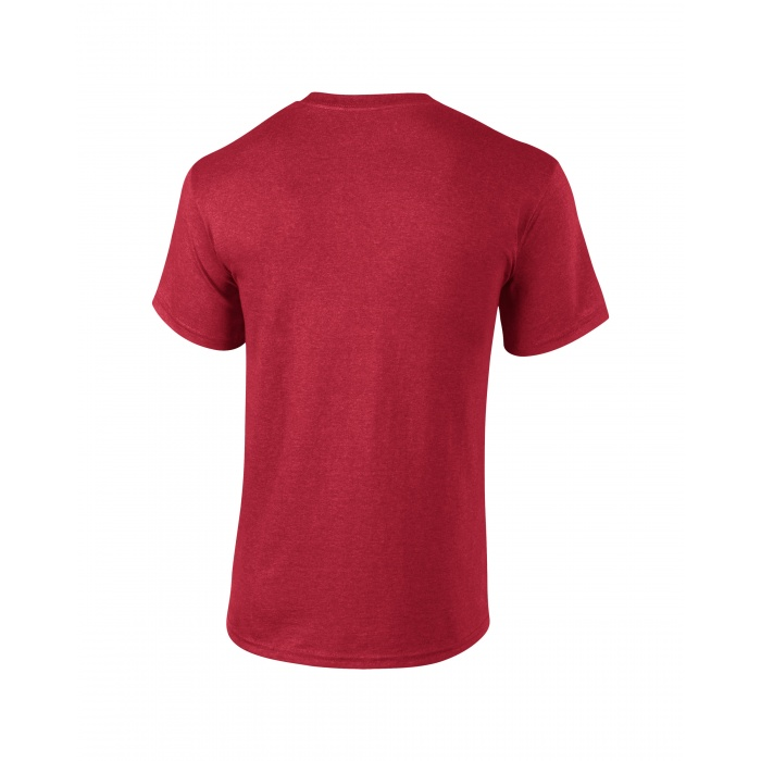 Gi2000 ultra cotton adult t shirt heather cardinal gildan for Cardinal color t shirts