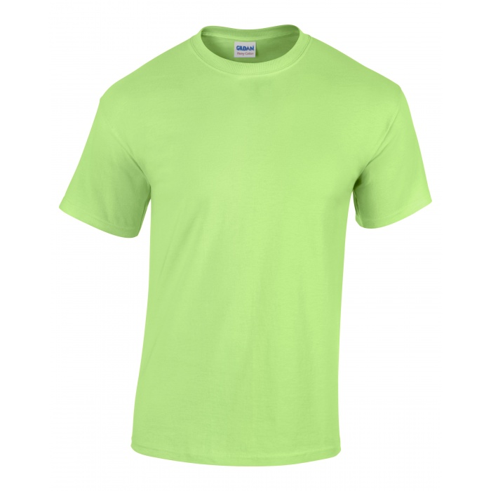 Gi5000 heavy cotton adult t shirt mint green gildan for Mint color t shirt