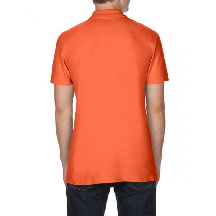 GI64800, Gildan Softstyle Adult Double Pique Polo (Orange