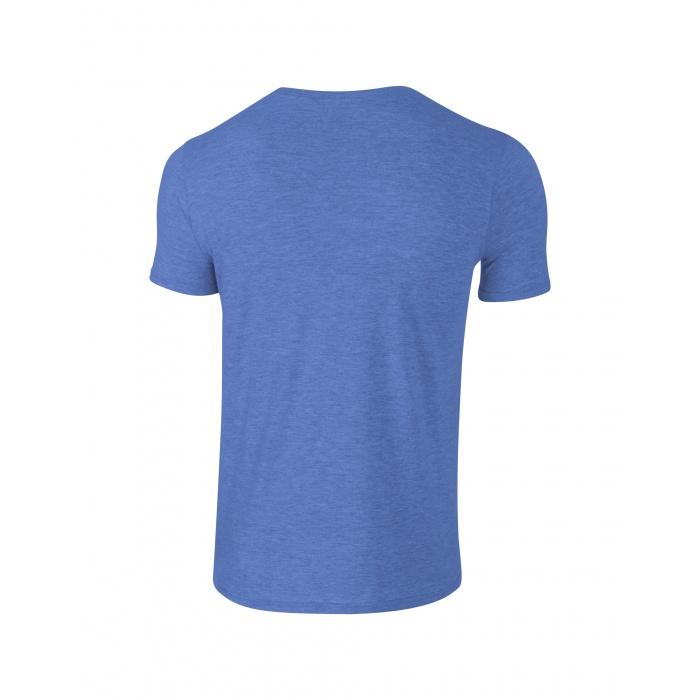 Gi64000 Softstyle T Shirt Heather Royal Gildan